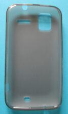 HTC Sensation TPU Gel Skin Case Silicone Cover Black