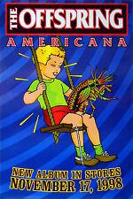 The Offspring - Americana - Original Rock Promo Poster (1998)