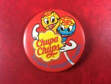 Extremely Rare Pin Button Badge CHUPA CHUPS BEST CARAMEL for RUSSIA USSR
