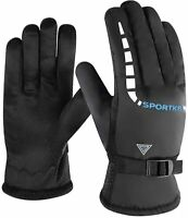 Hiking Gloves Ski Gloves Driving Golves Winter Work Gloves with Warm Thermal Sof