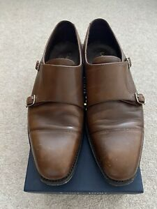 Mens Brown Loake Shoes size 7.5F