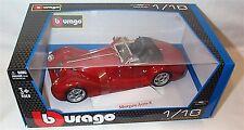 Morgan Aero 8 in (approx. 20.32 cm) Rojo modelo de escala 1-18 Nuevo En Caja