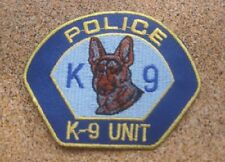Next Free shipping K-9 UNIT POLICE PATCH Badge