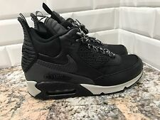 Nike Air Max 90 Sneakerboot Black Grey WaterProof Mens Shoes SZ 7 684714-001