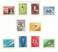 s33863 DEALER STOCK SAN MARINO 1964 MNH**  Olympic Games 10v (X 10 SETS)