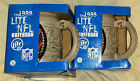1999 LITE NFL HOFFBRAU Mug of Denver Broncos Miller Lite 2 Mug Set