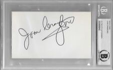 JOAN CRAWFORD Signed Index CARD Actress Mildred Pierce POSSESSED Sudden Fear BAS