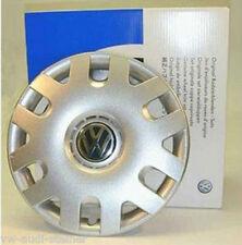 WOW Original VW Radzierblenden Radkappen Satz 15 Zoll für Polo 9N, Fox 6Q0071455