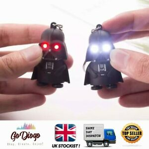 Darth Vader star wars light up & Sound Keyring Keychain - UK SELLER & STOCKIST