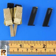 EODMU-11 - Dual Pistol Pouch w/ 2 Mags #2 - 1/6 Scale - Soldier Story Figures