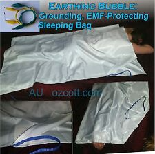 Earthing Bubble EMF-BLOCKING,GROUNDING SLEEPING Bag PE-Conductive Fabric Aus