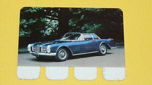N°28 FACEL VEGA PLAQUE METAL COOP 1964 AUTOMOBILE A TRAVERS AGES