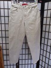 "Gloria Vanderbilt Straight Leg Beige Jeans Size 10 Petite Inseam 27""........Z158"