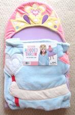 Princess Hooded Throw Bathtime Wrap 27X52 Very Soft Hooded Towel Wrap