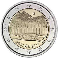 Spanien 2 Euro 2011 Alhambra in Granada Gedenkmünze bankfrisch