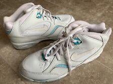 Vtg Nike Air Lite 17105 110 White&Blue Walking Shoes Women's Sz 9 Made In Korea