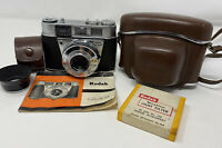 Kodak Retinette 1B 35mm Camera in Case With Instructions, Hood, Filter