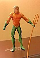 "Aquaman dc comics action figure 7"" loose"
