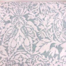 RALPH LAUREN 3pc KING DUVET COVER SET Floral Medallion Teal Blue Ivory NEW
