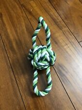 Dog Rope Teething Toy Rope Braided Healthy Bite