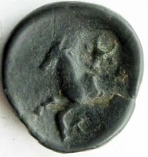 Termessos, Pisidia_1st century BC_AE21_Bull head COUNTERMARK