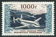 FRANCE - 1954 air haut valeur de ensemble SG 1197 Légèrement Monté Comme neuf V20081