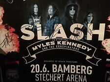 SLASH feat. Myles Kennedy and the Conspirators Plakat inkl. original Autogramme