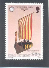 Vikingos Viking Longship Estampillada sin montar (1) - barco - 1986-Isla de Man