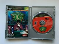 World Championship Poker (Microsoft Xbox Original) Complete and Tested