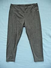 Jockey S Pants Cropped Leggings Grey Stretchy Casual Wear or Performance