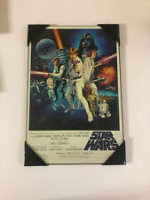 Star Wars MOVIE POSTER ART PRINT Matted Luke Lelia Vader R2-D2 C-3PO, Chewy