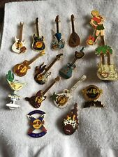 HARD ROCK CAFE PIN LOT OF 16 GIRL WAITRESS LOT 3 PHOENIX NASHVILLE BOSTON ANNIV