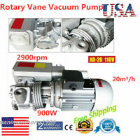 110V XD-20 Rotary Vane Vacuum Pumps 20m³/h Pumping Rate Suction Pump