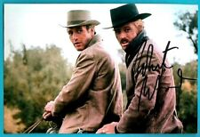 Robert Redford Signed Movie Photo Butch Cassidy And The Sundance Kid Autograph