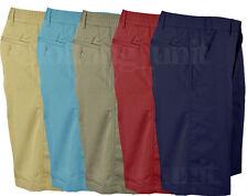 Unbranded Patternless Flat Front Shorts for Men