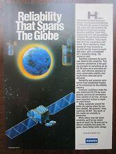 6/1992 PUB HUGHES GM ELECTRONICS COMMUNICATION SATELLITE HS 376 HS 601 AD