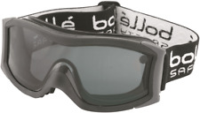 Bolle SAFETY GOGGLE Thermoplastic Rubber Frame, Dual SMOKE Lens*Australian Brand