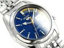 ☀ SEIKO 5 SNK371K1 Automatic Sports Divers Steel Blue Analog Men's Watch Japan ☀