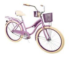 """New Huffy 24"""" Nel Lusso Girls' Cruiser Bike Purple 54599P7"""
