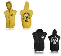 BODYBUILDING MMA GYM HOODY TOP HOODED SWEATSHIRT JUMPER GYM CLOTHING Hoody Vest