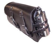 Motorcycle SOLO Saddlebag for Harley Davidson Sportster XL883N Iron 883 #701 R