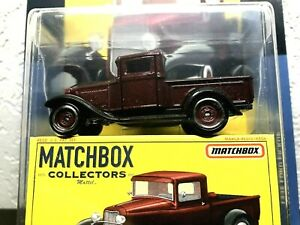 matchbox collectors 1932 Ford pick up