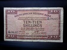1943 SOUTH AFRICA 10 SHILLINGS ✪ VG VERY GOOD ✪ 10S L@@K NOW P-82 ◢TRUSTED◣
