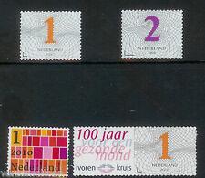 NVPH 2747-2748-2749-2750  ZAKENZEGELS 1 en 2  gestanst 2010 postfris