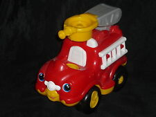 Fisher Price Little People Fire Truck with Ladder and Sounds