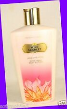 1 Victoria's Secret WILD SCARLET Juicy Apple & Lily Hydrating Body Lotion