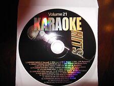 Karaoke Hits Vol  21 ( Country, Pop, Oldies Mix)