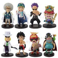 One Piece FILM Z Vol.5 Luffy Zephyr Sengoku 5cm-8cm PVC Figure Set Of 8pcs