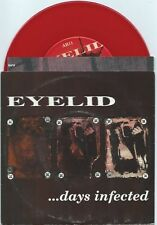 """Eyelid """"Days Infected"""" 7"""" OOP Red Wax Strife Ensign Death By Stereo"""