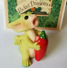 """""""Hot Hot Hot"""" Whimsical World Pocket Dragons Real Musgrave w Box"""